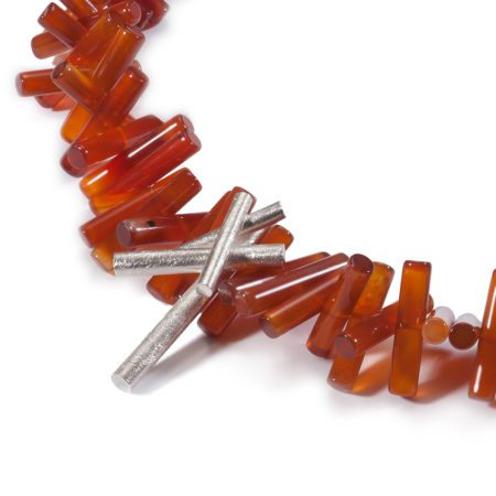 Carnelian rhapsody necklace 2
