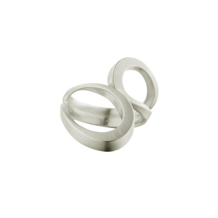 Silver tuohi III ring