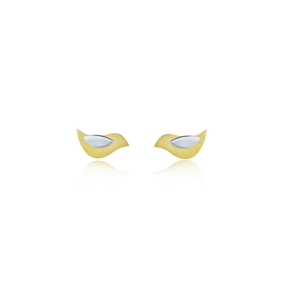 Birdie stud earrings