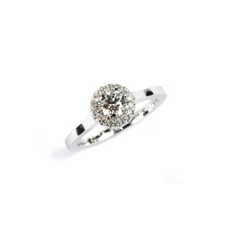 Diamond florence ring