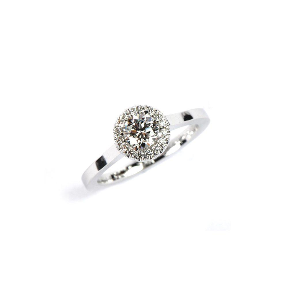 Diamond florence ring