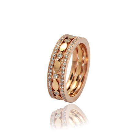Diamond juliet and classic 11 rings