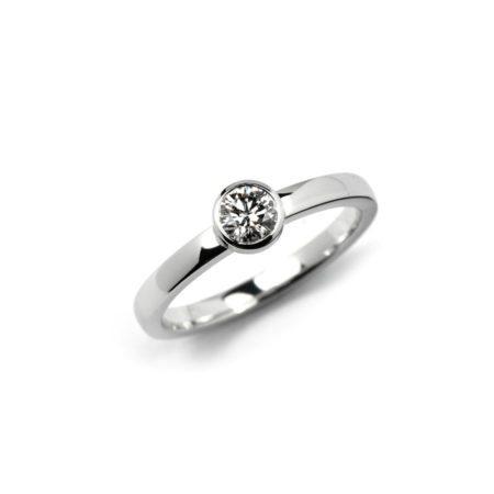 Diamond stockholm ring