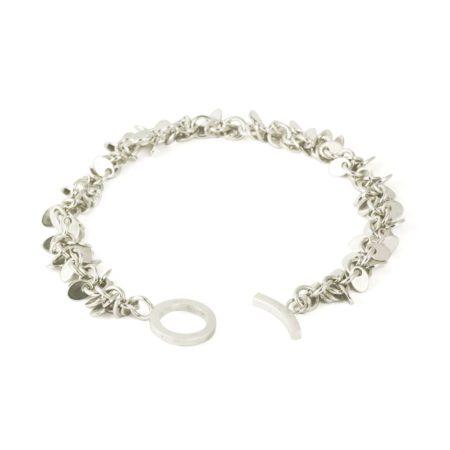 Fine multilink bracelet