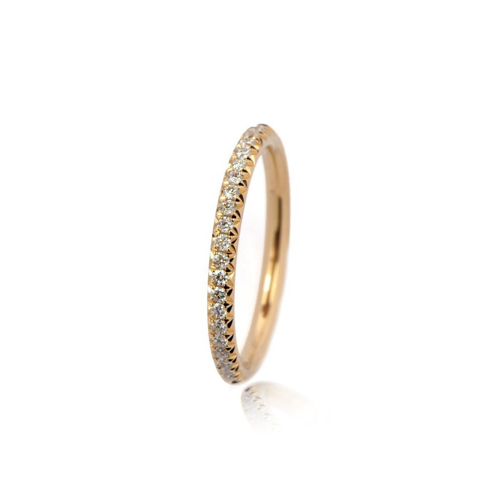 Galaxy diamond ring