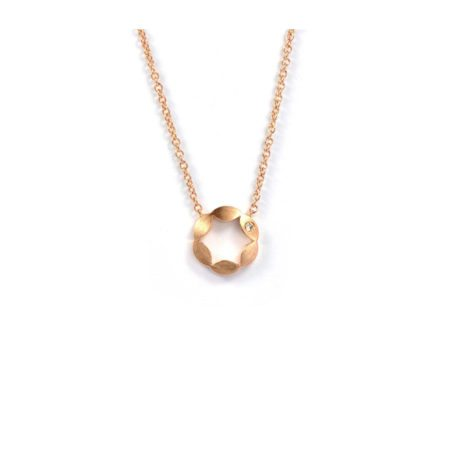 Juliet pendant - single diamond