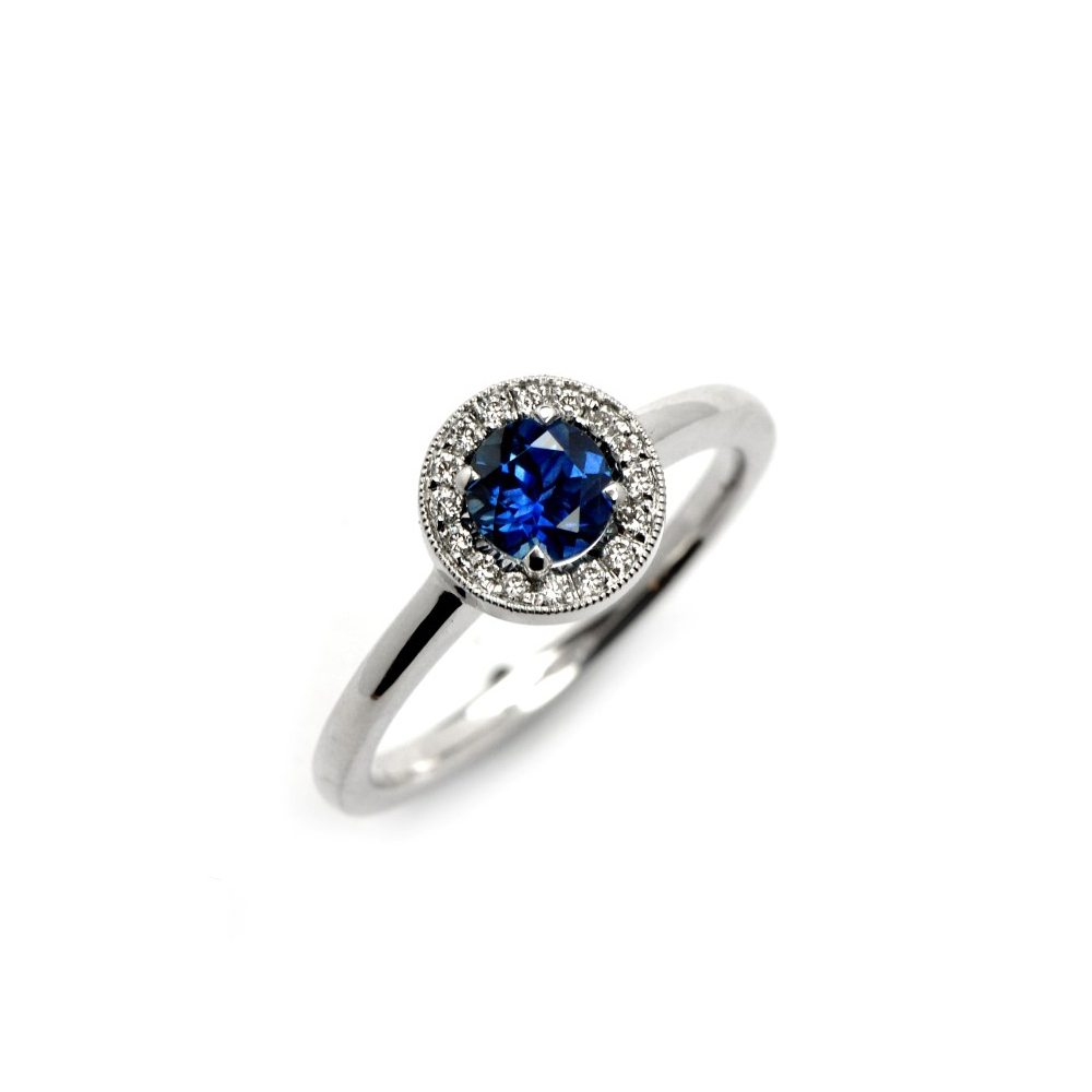 Sapphire vintage westend ring