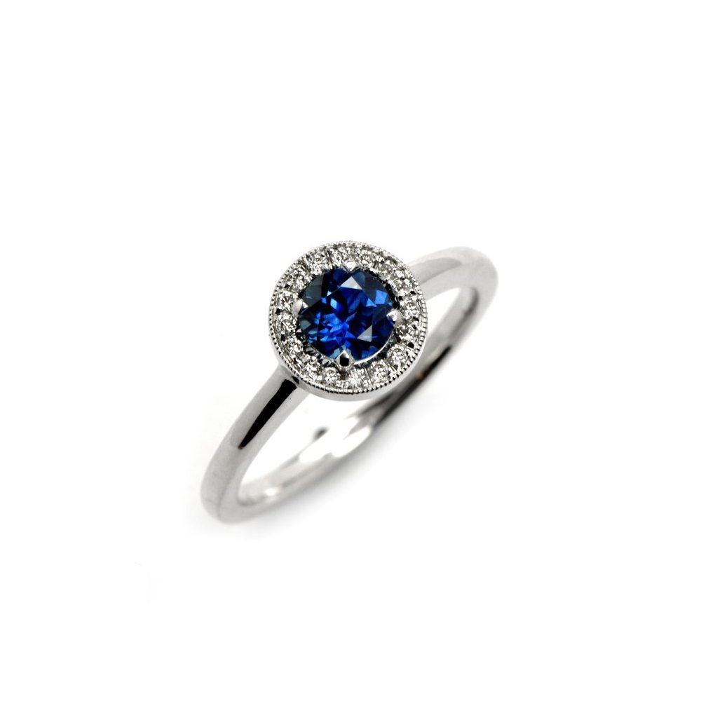 Sapphire vintage westend ring
