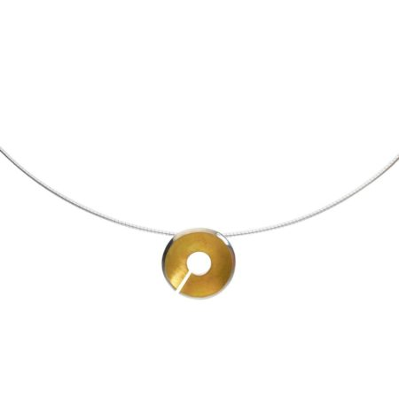 Small Torc Pendant - Gold - Detail