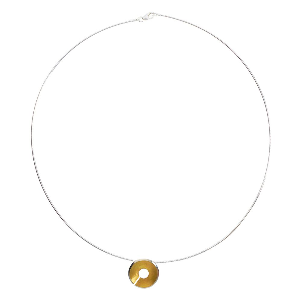 Small Torc Pendant - Gold