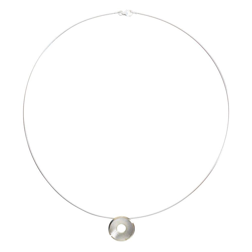 Small Torc Pendant - Silver