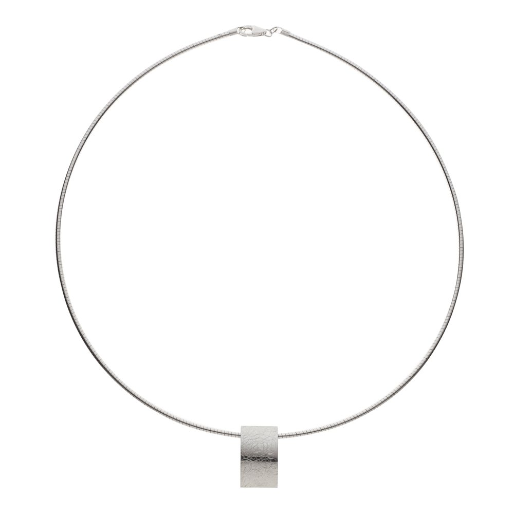 Small textured pendant