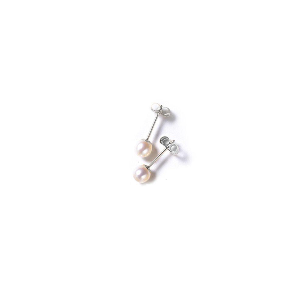 Small pearl stud earrings