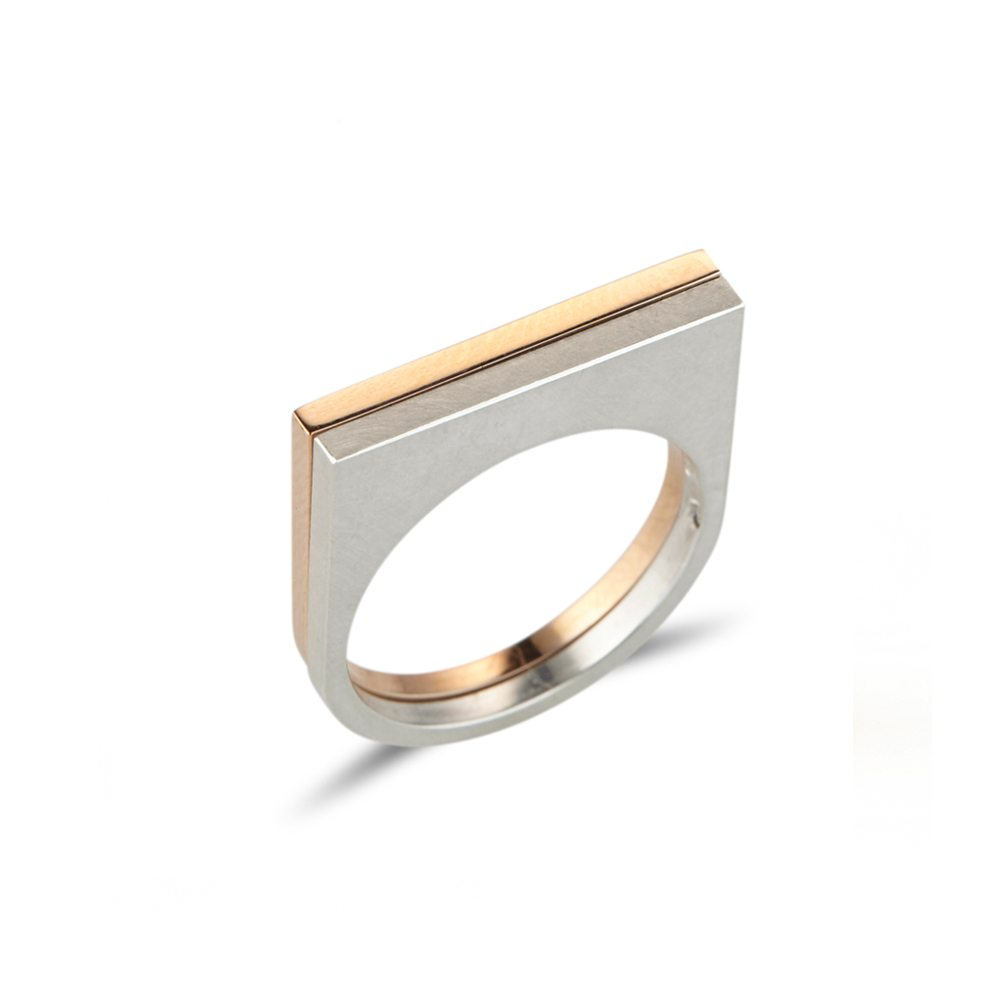Double straight quintet rings