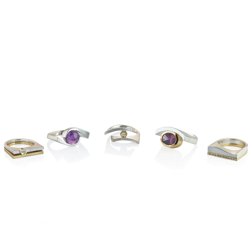 Quintet rings 2