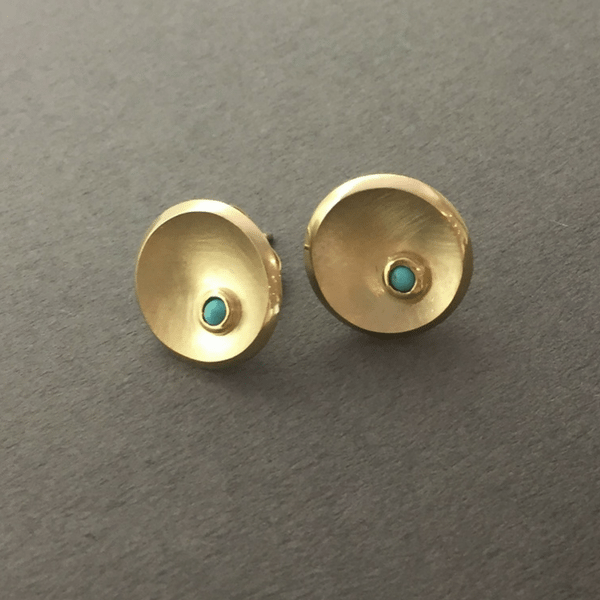 Torc with Opal Earrings