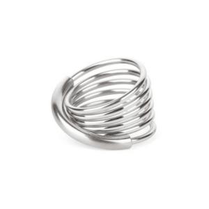 Apero Steel Infinity Ring