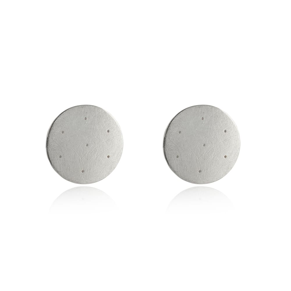 Silver Shoal Earrings