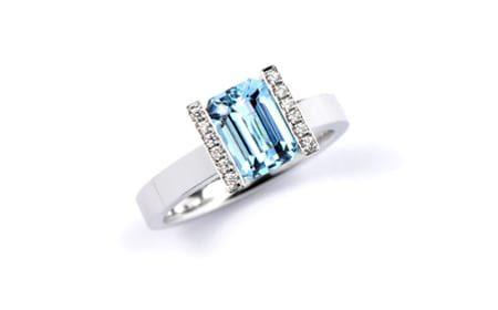 Aquamarine Lika Ring