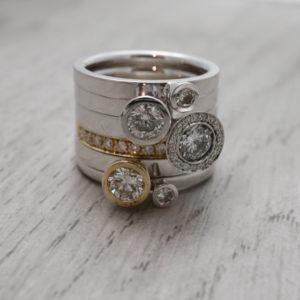 Aurora Ring Stack