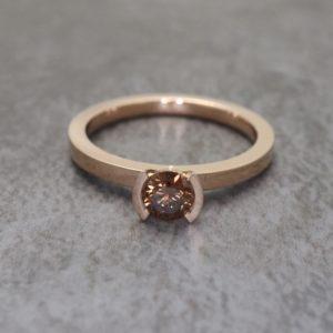 Chocolate Diamond Lika Ring