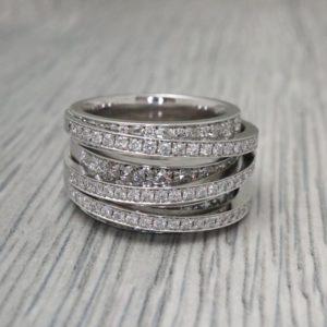 Diamond Wraparound Ring