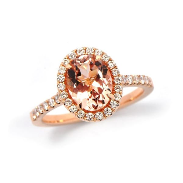 Oval Morganite