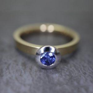 Sapphire Kaleidoscope Ring