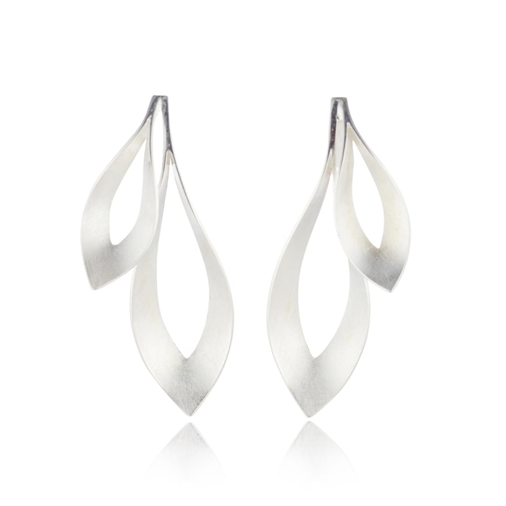 Double Dancing Flame Earrings