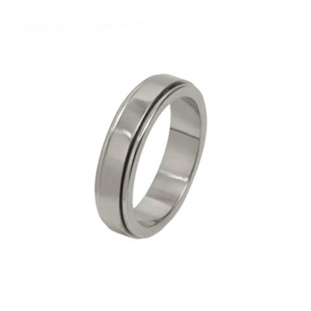 Stepped Titanium Ring