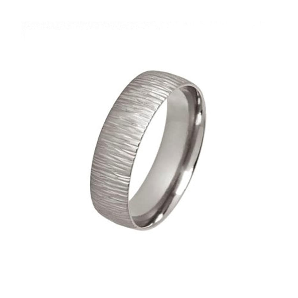 Titanium Rainstorm Ring