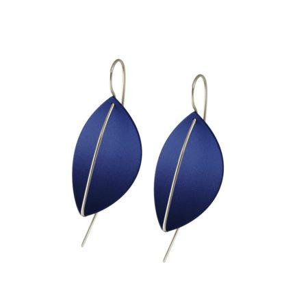 Leaf Drop Earrings Marine