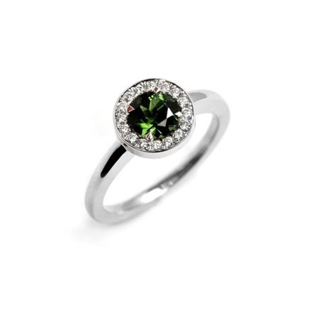 Green Tourmaline Westend Ring