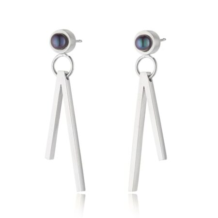 Duet Pearl Drop Earrings
